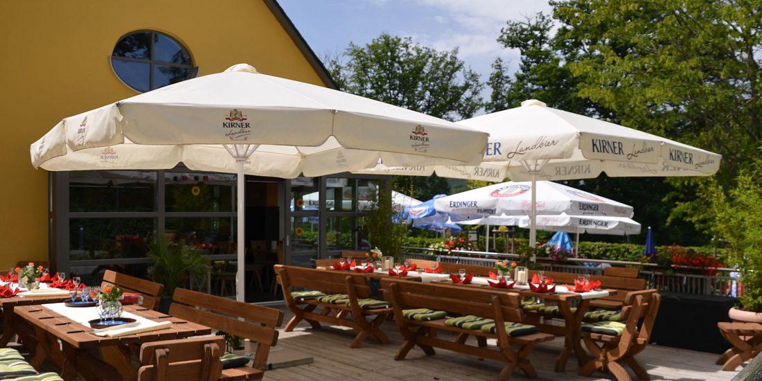 Waldgaststätte Emmerichshütte - Draußenterrassen
