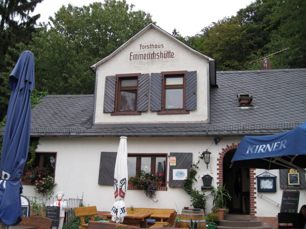 Waldgaststätte Emmerichshütte bis 2009