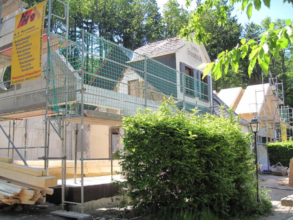 Waldgaststätte Emmerichshütte - Umbau