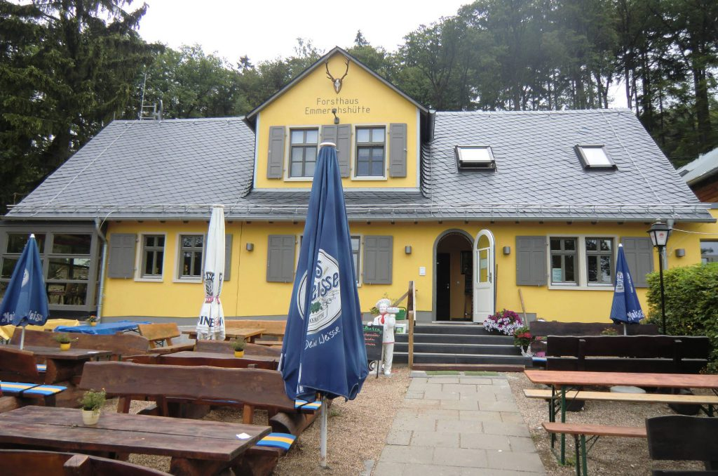 Waldgaststätte Emmerichshütte - heute