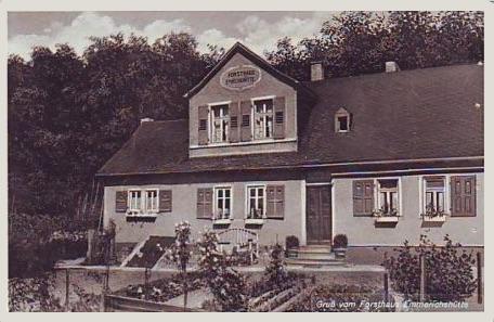 Bild altes Fortsthaus Emmerichshütte
