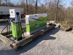 Elektro Ladestation für Autos